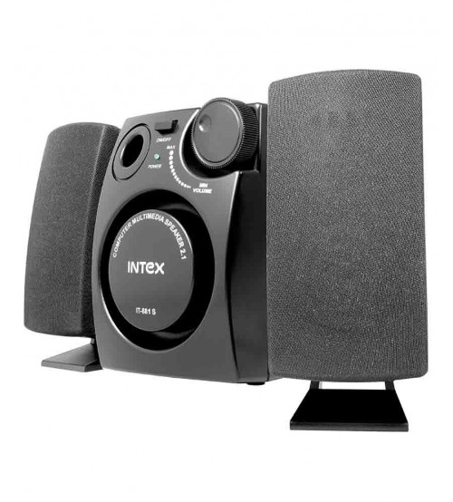 Intex IT-881S 2.1 Channel Computer Speaker - Black
